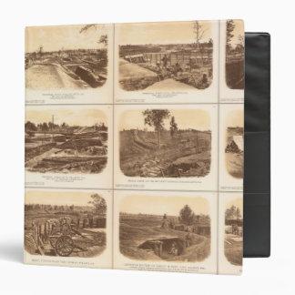 Forts, batteries, Atlanta, Ga Vinyl Binders