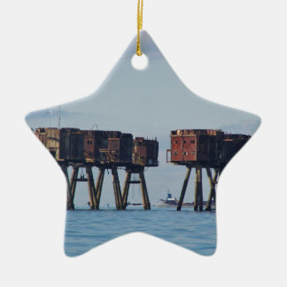 Forts In The Thames Estuary Ceramic Ornament