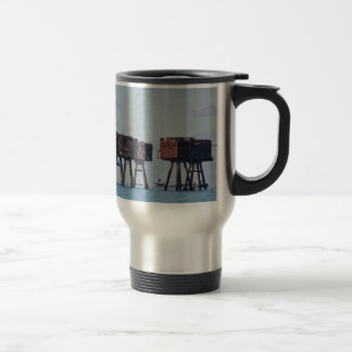 Forts In The Thames Estuary Travel Mug
