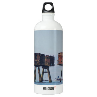 Forts In The Thames Estuary Water Bottle