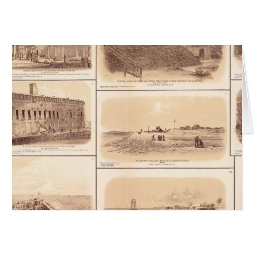Forts Sumter & Moultrie, Sullivan's Island Card