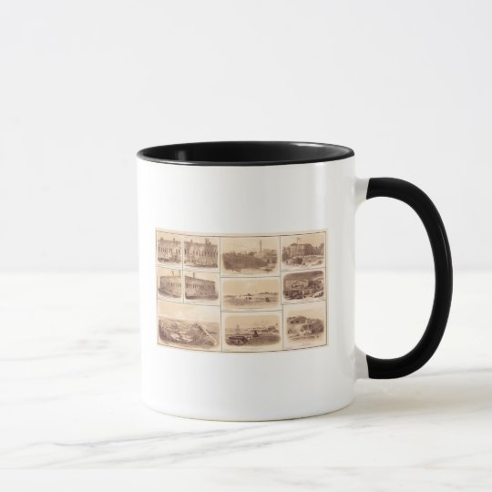 Forts Sumter & Moultrie, Sullivan's Island Mug