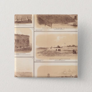 Forts Sumter & Moultrie, Sullivan's Island Pinback Button