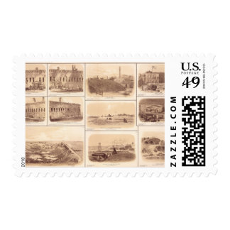 Forts Sumter & Moultrie, Sullivan's Island Postage Stamps