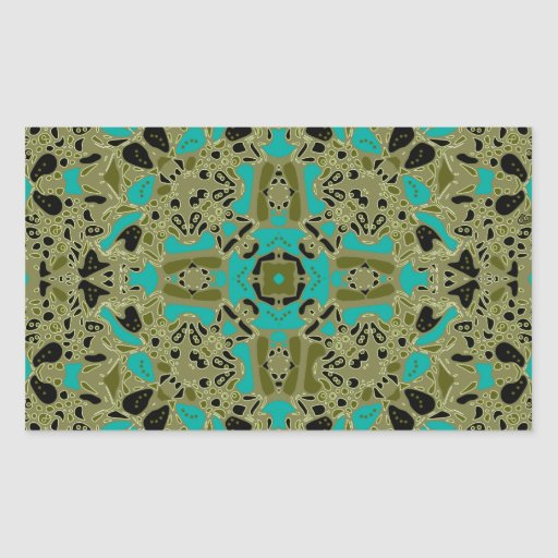Fortuna Design Rectangle Sticker