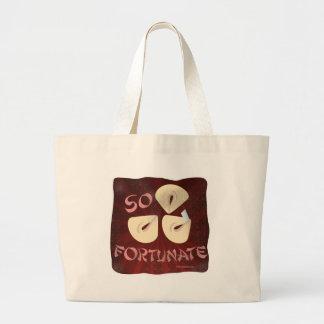Fortunate Cookies Large Tote Bag