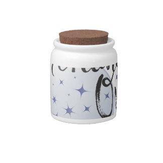 Fortunate One Candy Jar