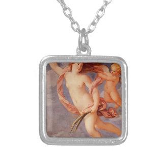 Fortune by Guido Reni Square Pendant Necklace