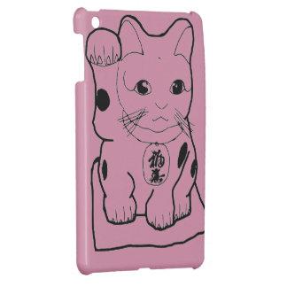 """Fortune Cat"" Cover For The iPad Mini"