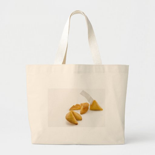 Fortune Cookie Canvas Bag
