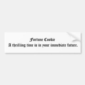 Fortune Cookie Bumper Sticker