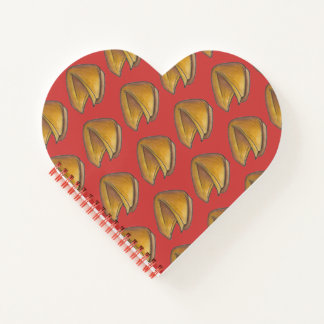 Fortune Cookie Egg Roll Chinese Takeout Food Notebook