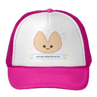 Fortune Cookie Fortune - customizable Mesh Hats