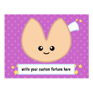 Fortune Cookie Fortune - customizable! Postcard