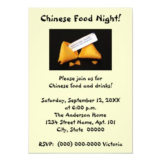 Fortune Cookie Invitations