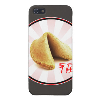 Fortune Cookie 'Luck' iPhone Case (brown) iPhone 5 Covers