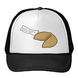 Fortune Cookie Mesh Hat
