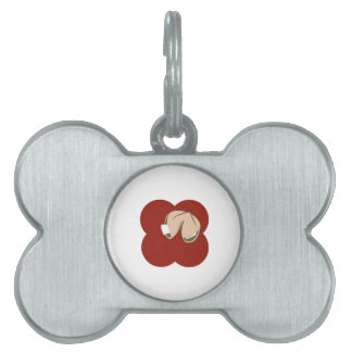 Fortune Cookie Pet Name Tag