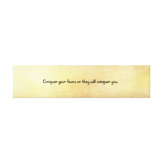 Fortune Cookie Quote Canvas Print