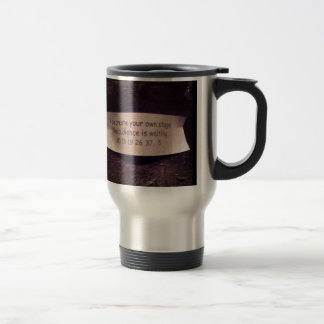 Fortune Cookie Quote 15 Oz Stainless Steel Travel Mug