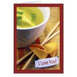 Fortune Cookie Valentine Card
