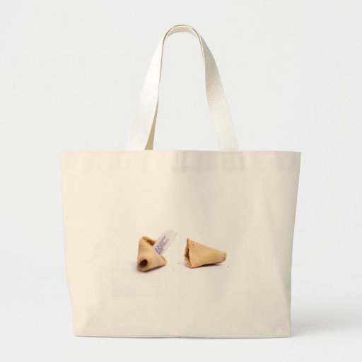 fortune cookies canvas bags