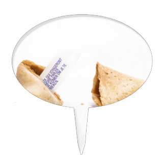 fortune cookies cake toppers