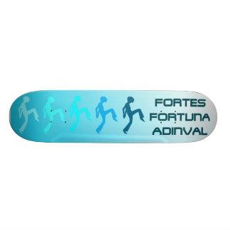 Fortune Favors The Brave Skateboard