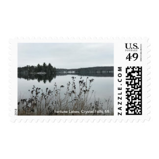 Fortune Lakes in Crystal Falls, MI Stamps