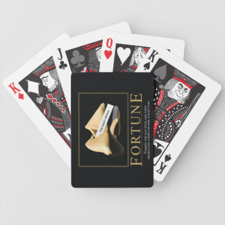 Fortune Motivational Parody Cards Bicycle Playing Cards