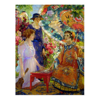 Fortune Teller by Colin Campbell Cooper Postcard