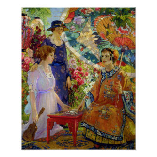 Fortune Teller by Colin Campbell Cooper Poster