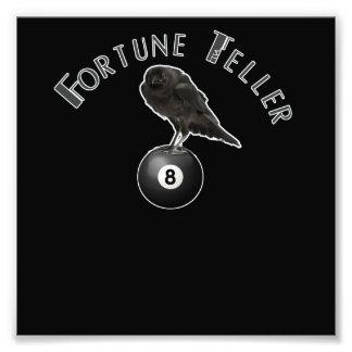 fortune teller crow photographic print