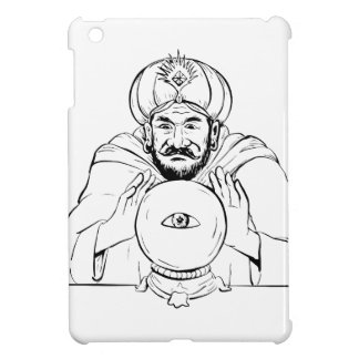 Fortune Teller Crystal Ball Drawing iPad Mini Cover