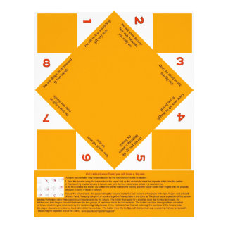 Fortune Teller Customize with your images Letterhead