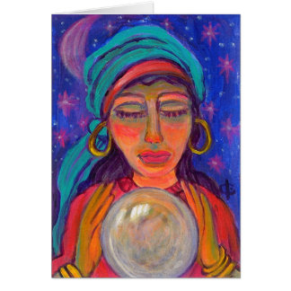 Fortune Teller Greeting Cards