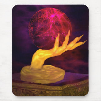 Fortune Teller Hand of Fate Mouse Pad