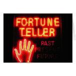 Fortune Teller - Past Present & Future Card