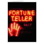 Fortune Teller - Past Present & Future Greeting Card