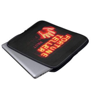 Fortune Teller - Past Present & Future Laptop Sleeves