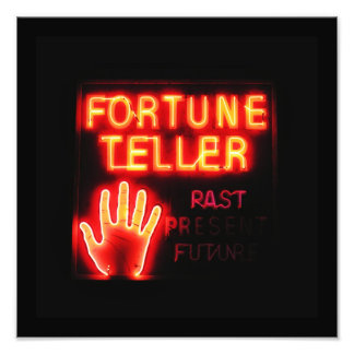 Fortune Teller - Past Present & Future Photo Print