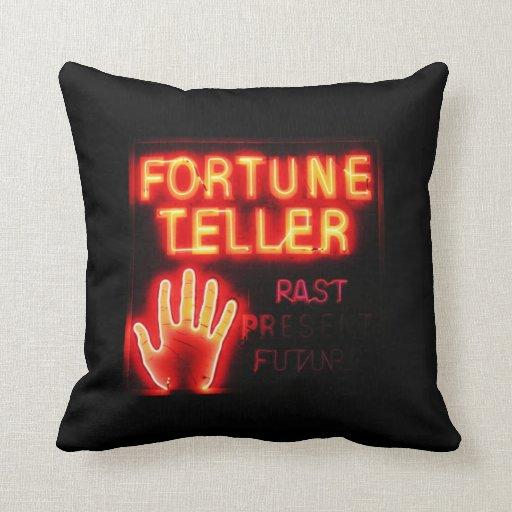 Fortune Teller - Past Present & Future Throw Pillow