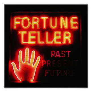 Fortune Teller - Past Present & Future Poster