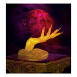 Fortune Tellers Hand of Fate Poster