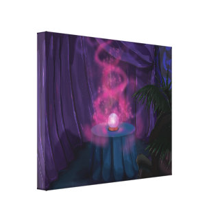 Fortune Tellers Tent Canvas Print