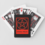 Fortune Telling Playing Cards by Cheeky Witch