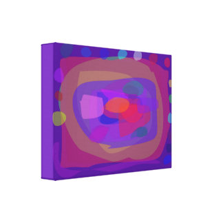Fortune Telling Purple Canvas Print