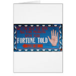 Fortunes Told Greeting Card