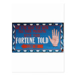 Fortunes Told Postcard