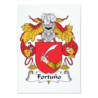 Fortuno Family Crest Custom Invite